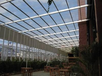 Polycarbonate sheet project in Shenyang  4.0mm 12000M2