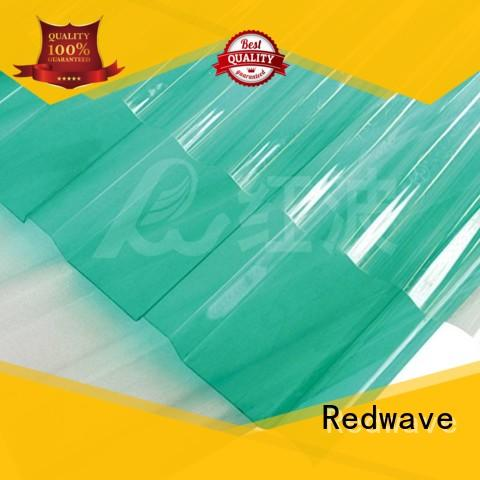 Redwave strong plexiglass sheets in bulk for ocean hall