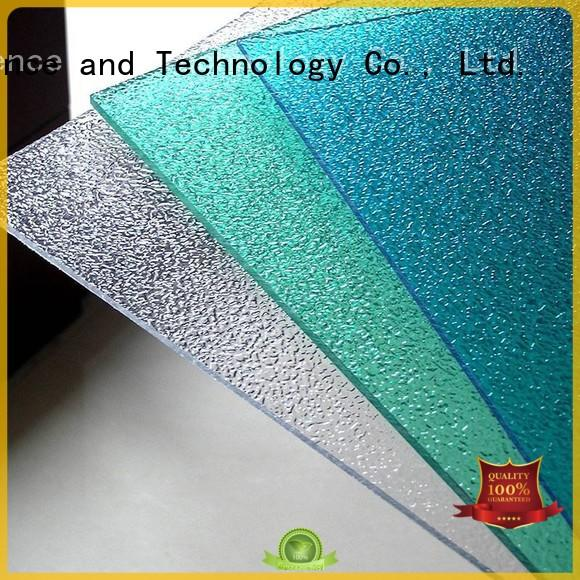 green embossed 1.5mm transparent polycarbonate roof sheeting prices Redwave Brand