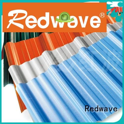 Redwave upvc roofing sheets from China for housing