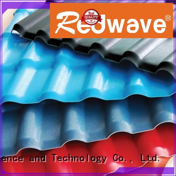 2.5mm plastic spanish roof tiles synthetic Redwave company