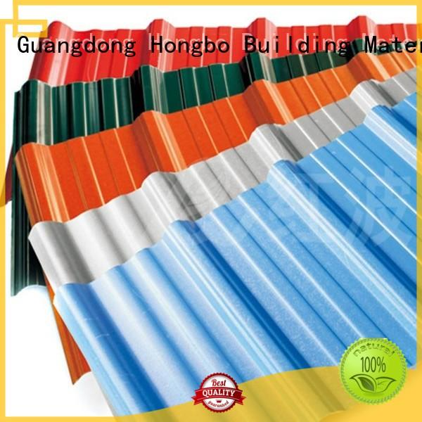 Custom green pvc roofing sheets tile Redwave