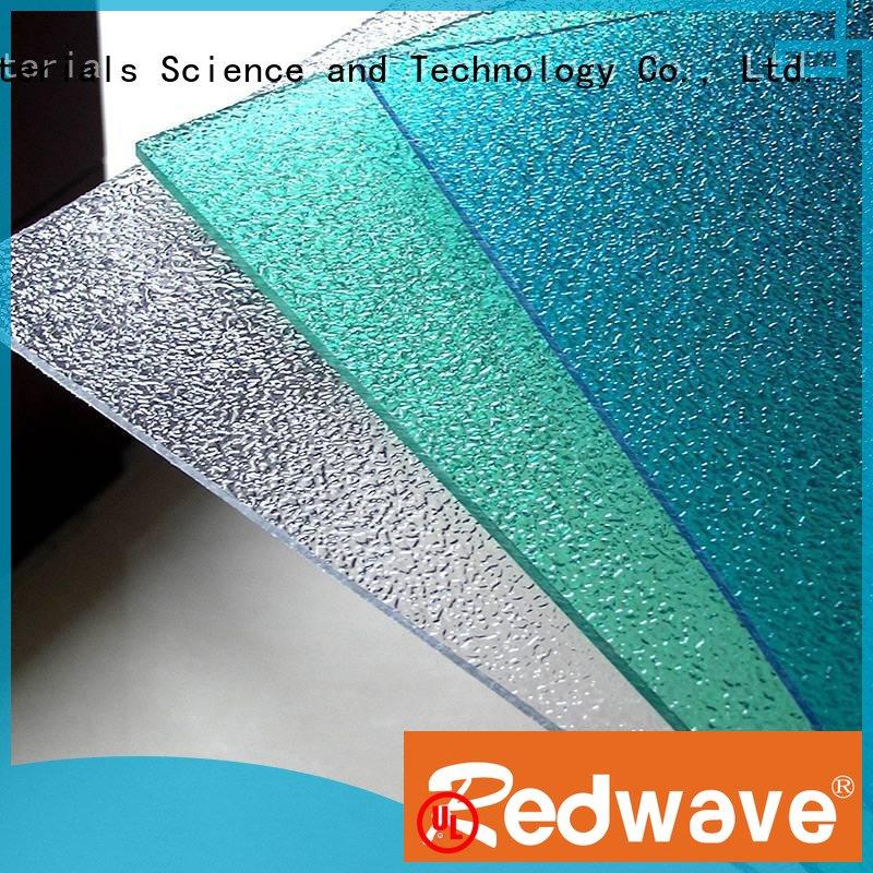 Wholesale solid quality polycarbonate roofing sheets Redwave Brand