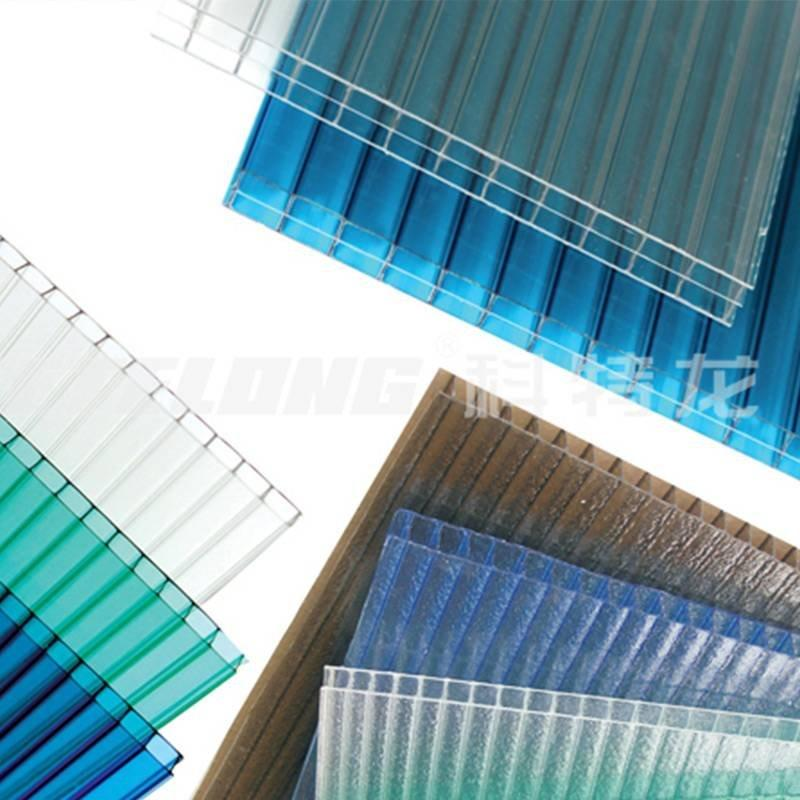Redwave strong polycarbonate sheet certifications for scenic shed