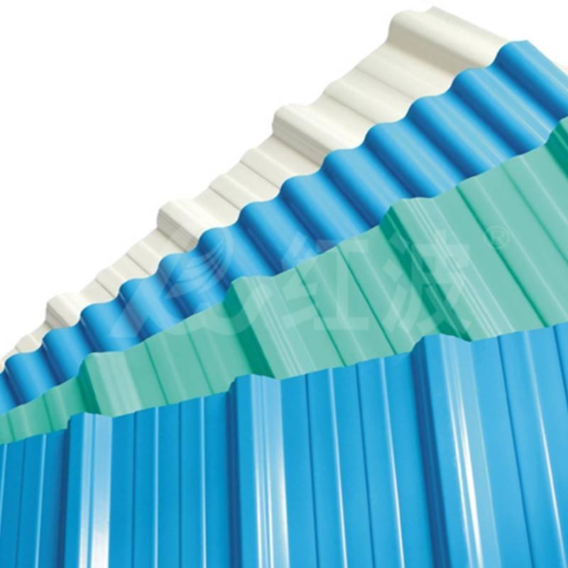 Redwave Redwave APVC roofing sheet , Heat insulation , corrosion resistance , Long lifetime PVC Roofing Sheet image5