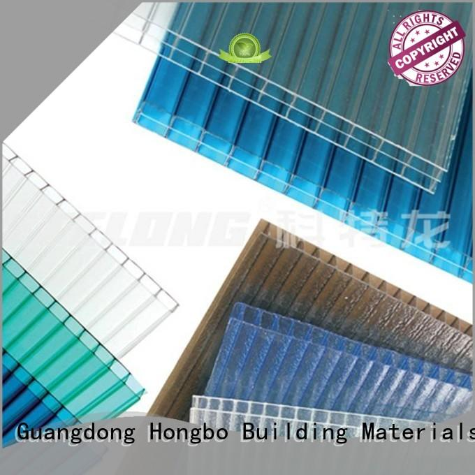 best-selling polycarbonate roof texture with certification for scenic buildings