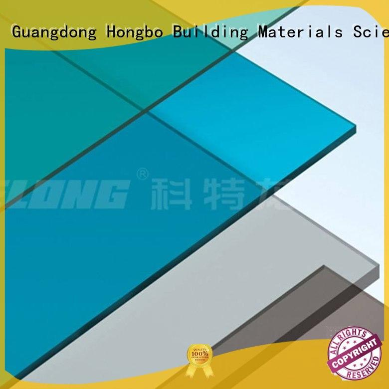 1.5mm solid Redwave Brand polycarbonate roof sheeting prices factory