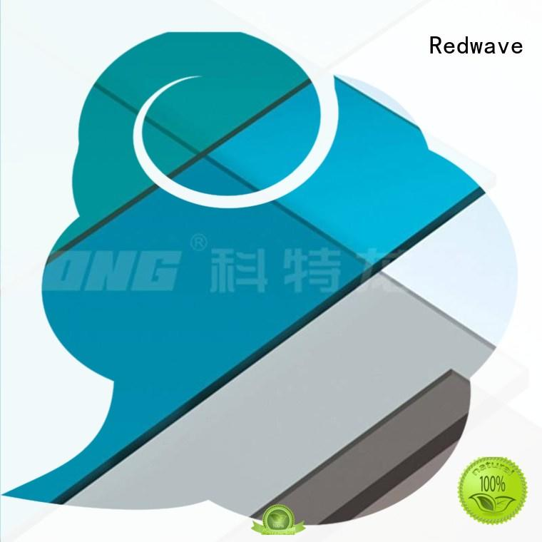 Redwave polycarbonate factory price for factory