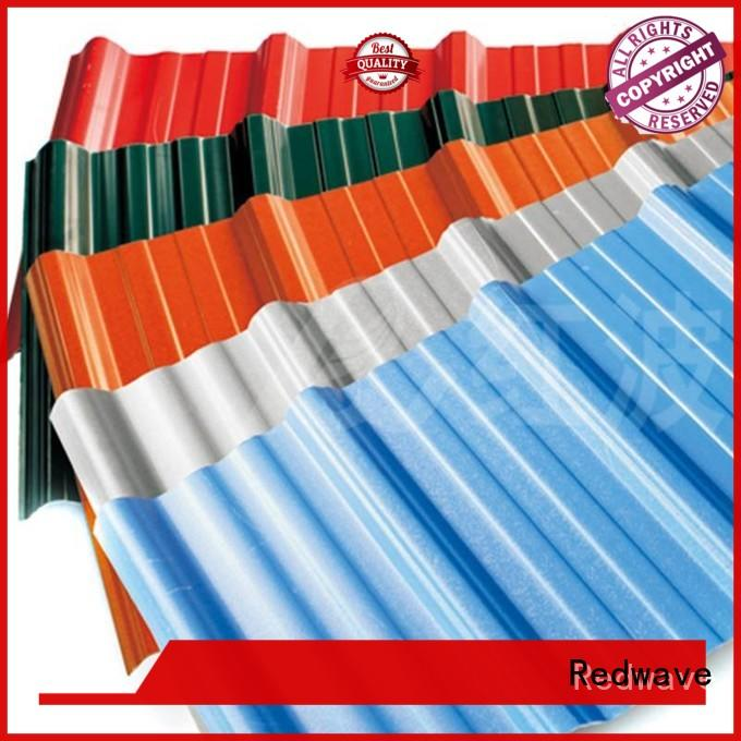 Redwave quality polycarbonate roofing sheets lifetime for housing