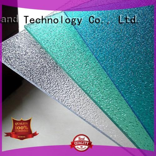 polycarbonate roof sheeting prices embossed 0.8mm 1.0mm Redwave Brand polycarbonate roofing sheets