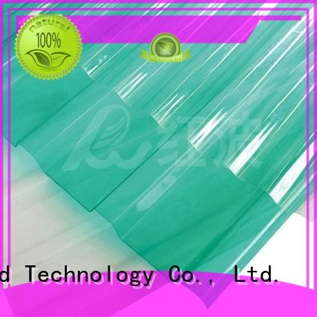 Custom blue 2.0mm, polycarbonate roofing sheets Redwave 1.0mm