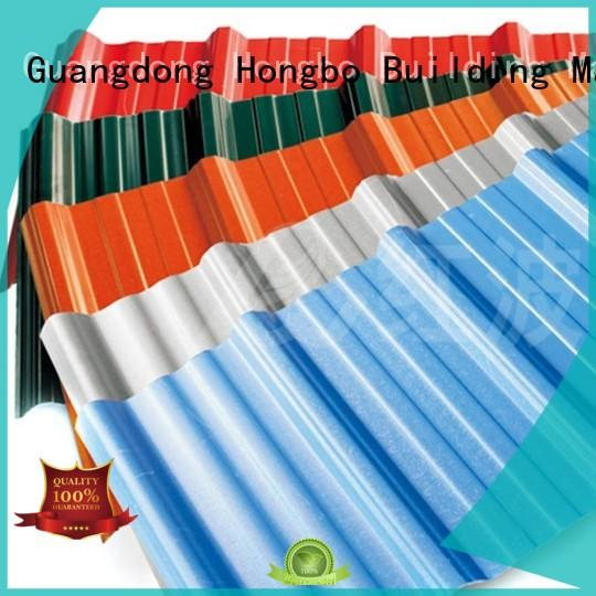 green oem plastic roof tiles apvc Redwave company