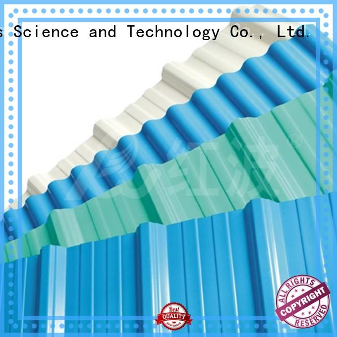 sheet color pvc roofing sheets corrosion Redwave Brand company
