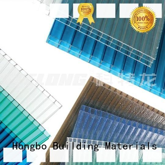 Redwave best-selling clear polycarbonate sheet certifications for ocean hall
