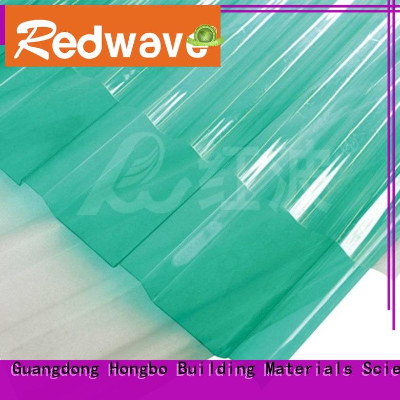 Redwave embossed plexiglass sheets in bulk for scenic shed