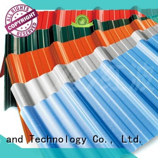 lasting insulation OEM pvc roofing sheets Redwave