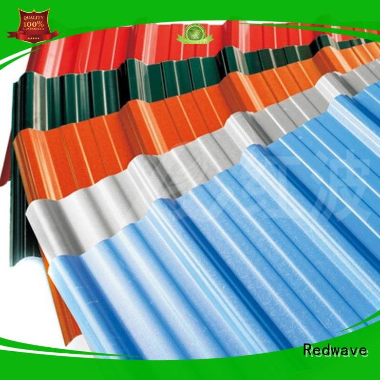 Redwave best-selling pvc roofing sheet from China for ocean hall