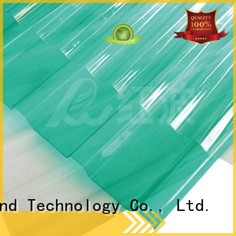 Redwave Polycarbonate Corrugated Sheet Hongbo Building