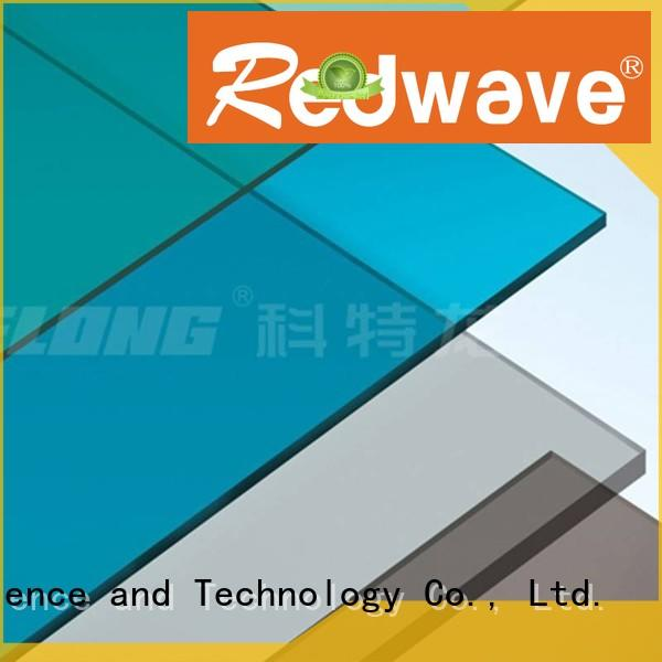 Redwave Brand milk white polycarbonate roof sheeting prices 2.5mm supplier