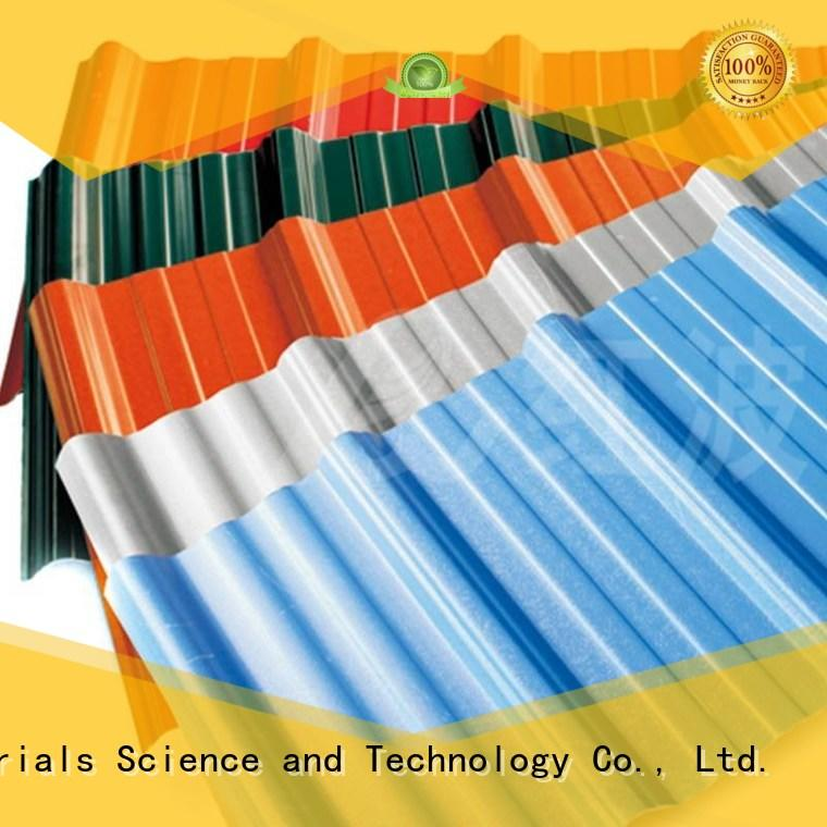 Wholesale white plastic roof tiles pvc Redwave Brand