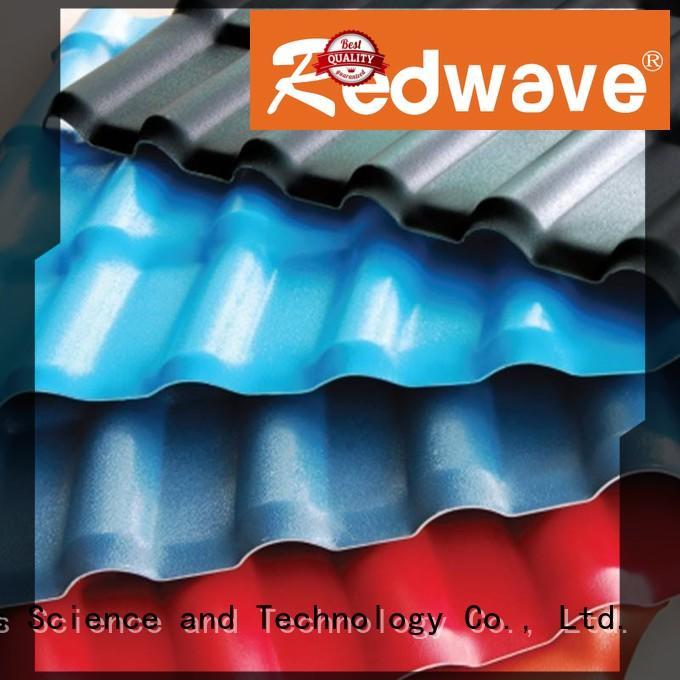Redwave Brand roof resin redwave spanish tile roof manufacture