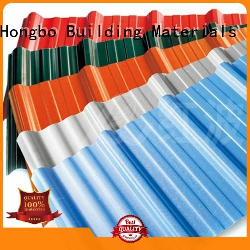 Redwave best-selling corrugated plastic roofing directly sale for scenic buildings