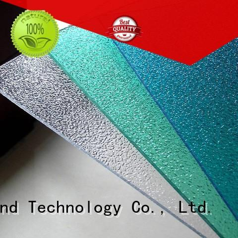 Redwave redwave clear polycarbonate sheet with certification for factory