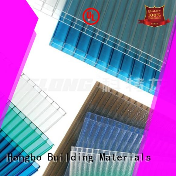 Redwave newly clear polycarbonate sheet from China for residence