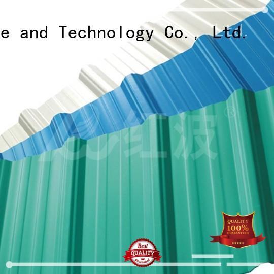 lifetime green plastic roof tiles high quality apvc Redwave Brand