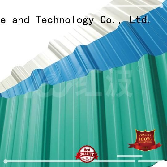 Redwave Brand apvc sheet roof pvc roofing sheets manufacture