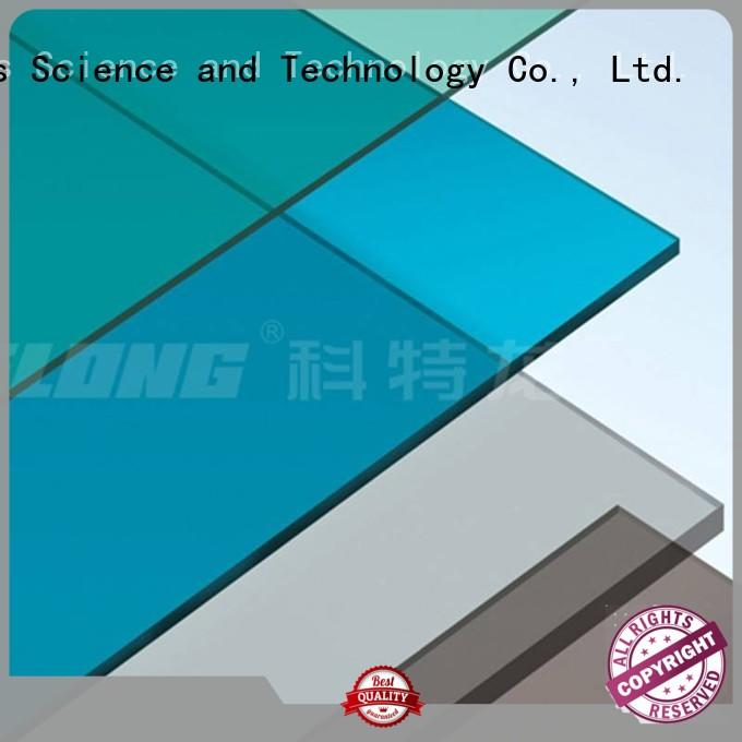 first-rate clear polycarbonate sheet matte from China for residence