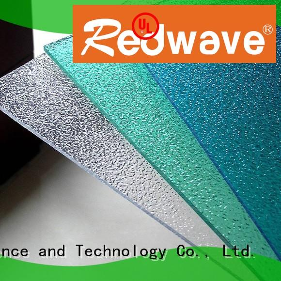 Redwave Brand green redwave polycarbonate roof sheeting prices