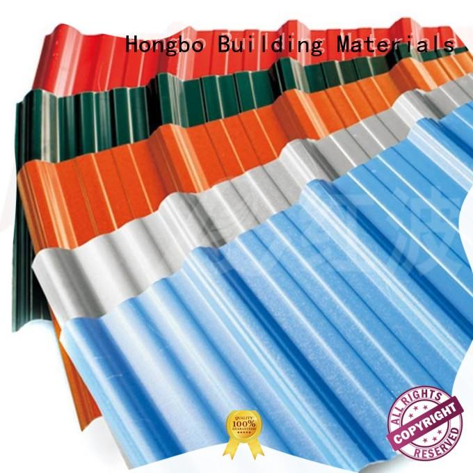 Redwave asa pvc roofing sheet widely use for scenic shed