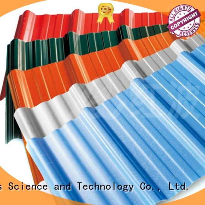 long plastic roof tiles corrosion asa Redwave Brand