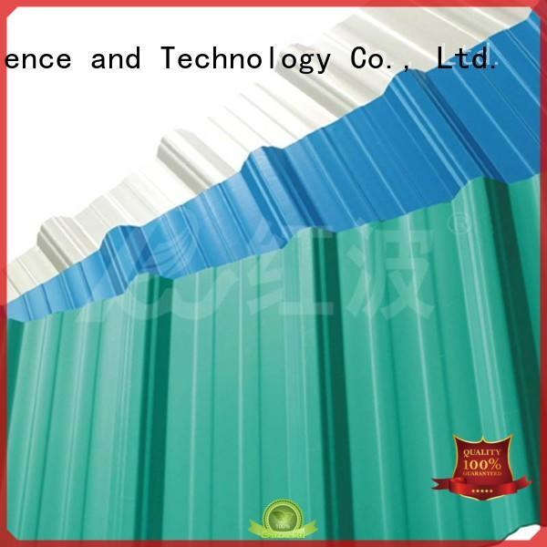 plastic roof tiles color high quality Warranty Redwave