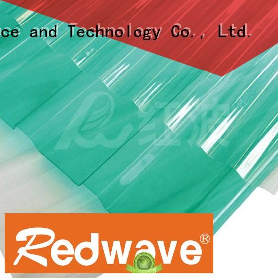 Redwave Brand frosted 2.5mm blue polycarbonate roof sheeting prices