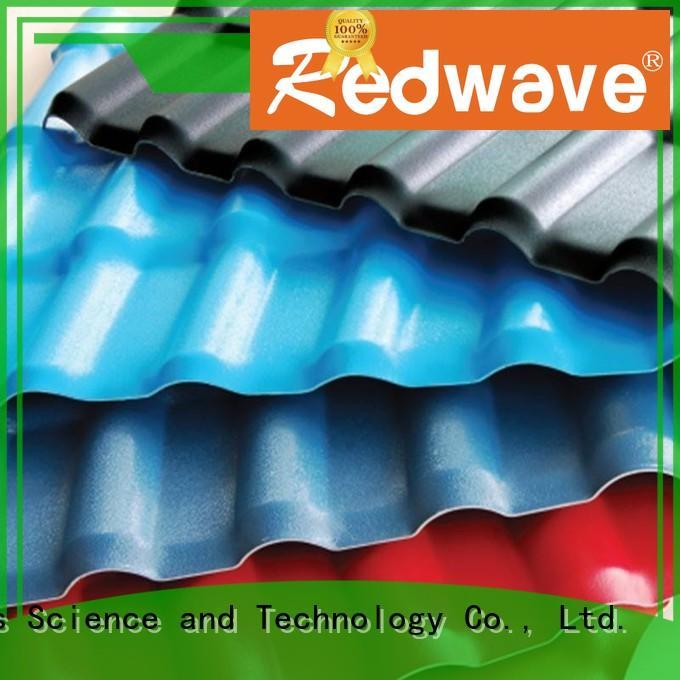 purplish red roof redwave plastic spanish roof tiles Redwave manufacture