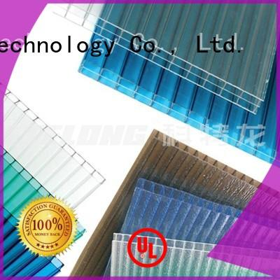 2.0mm, transparent Redwave Brand polycarbonate roof sheeting prices factory