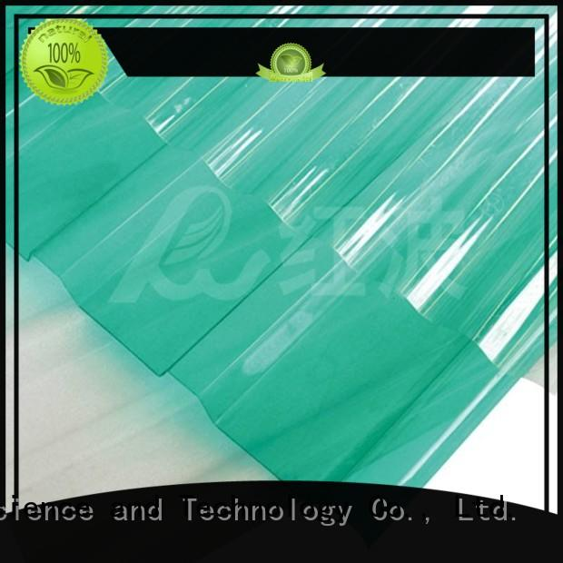durable clear polycarbonate sheet diamond with certification for ocean hall