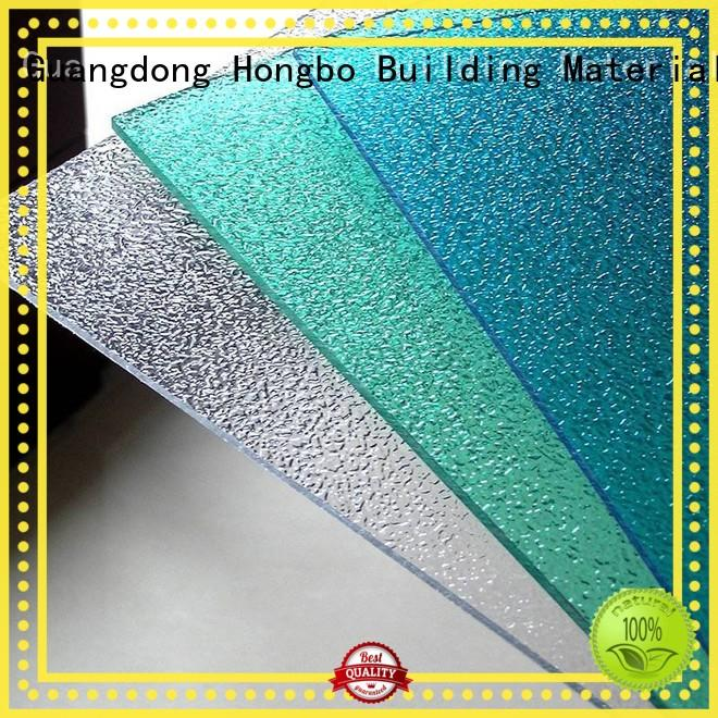 Redwave superior polycarbonate sheet price raindrop for workhouse