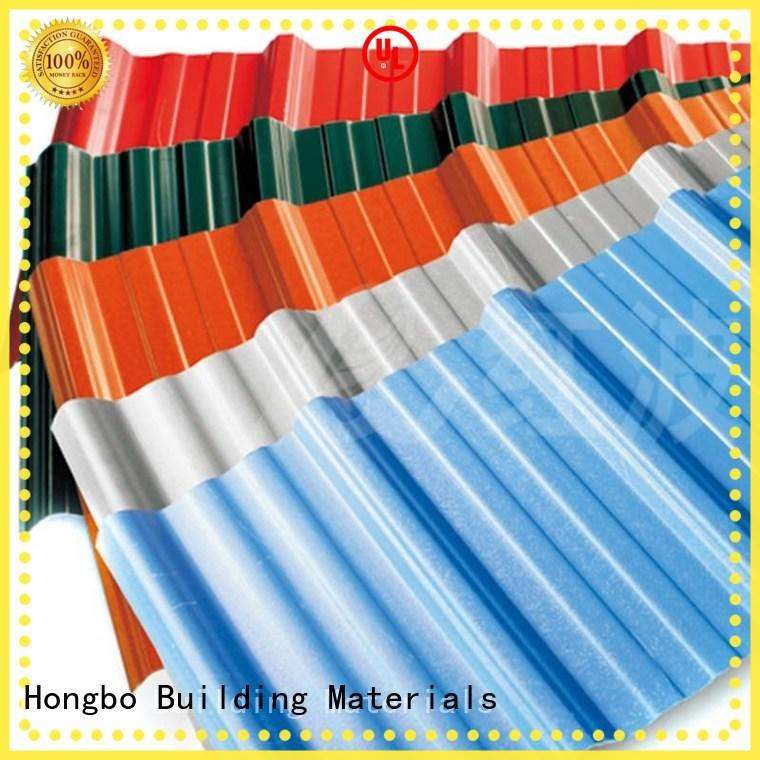 Redwave quality corrugated plastic roofing widely use for workhouse