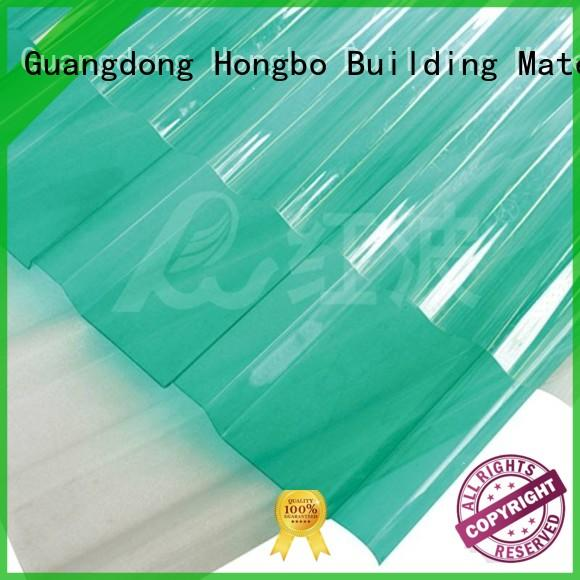 solid quality transparent oem solid polycarbonate roof sheeting prices Redwave Brand