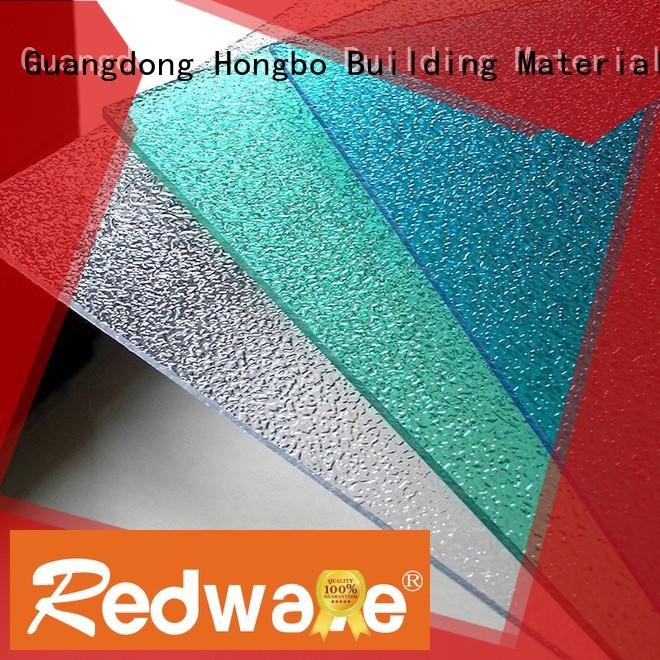 polycarbonate roof sheeting prices milk white sheet Warranty Redwave