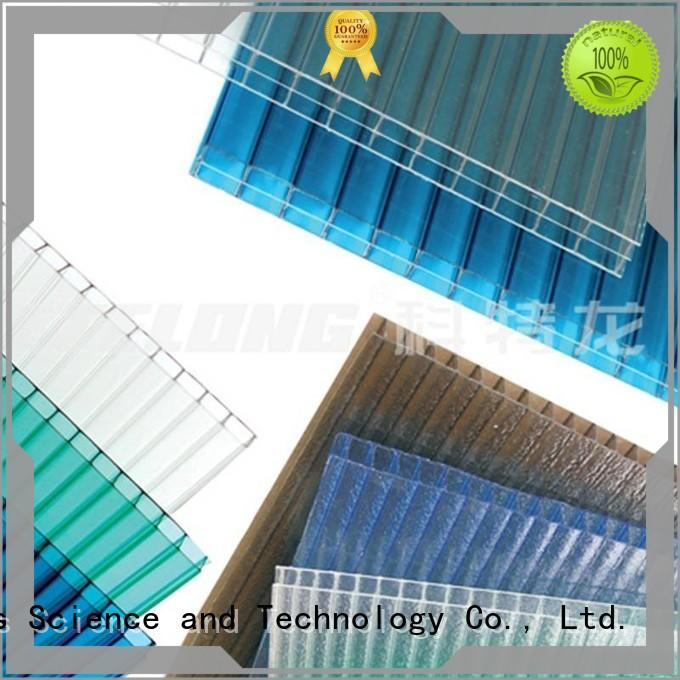 Redwave hollow polycarbonate roof order now for factory