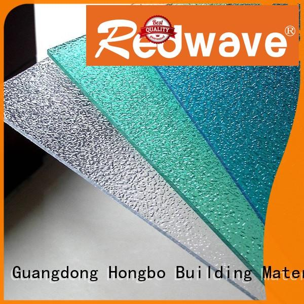 Redwave polycarbonate roofing sheets factory price for factory