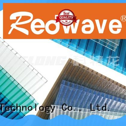 Redwave polycarbonate polycarbonate panels factory price for factory