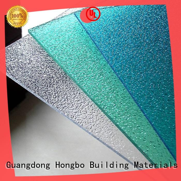 durable polycarbonate sheet price with good price for housing Redwave
