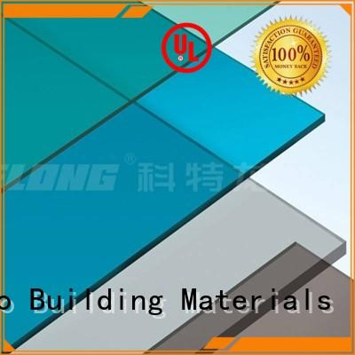 superior polycarbonate panels sheet with certification for ocean hall