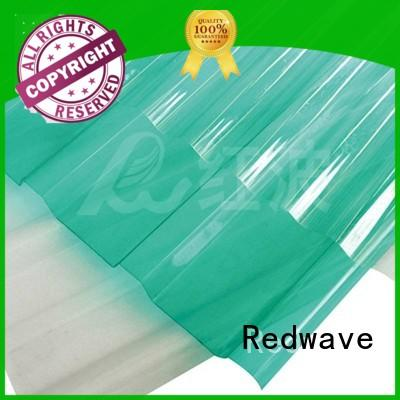 Redwave eco-friendly plexiglass sheets order now for ocean hall
