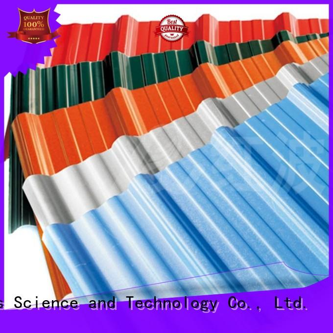 Redwave ASA PVC roofing sheet , long lifetime, heat insulation, corrosion resistance, color lasting